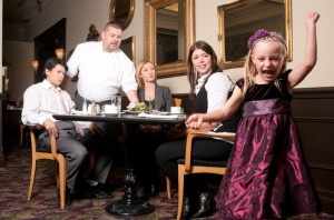 kids and restaurants