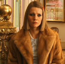 "(Gwyneth Paltrow as Margot Tenenbaum, Royal Tenebaum's ""adopted daughter"" in The Royal Tenenbaums)"